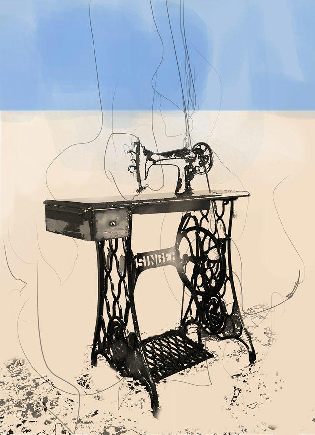 Máquina de coser - Lucía Hervás