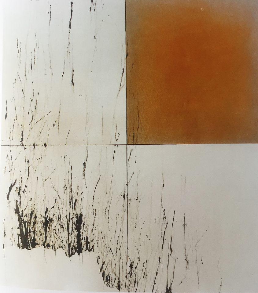 Memoria perdida II, 2003 - tinta sobre lona 260 x 290 cm
