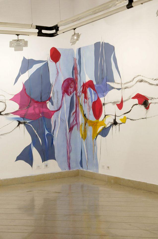 Música en l paredes,2009 inter mural medidas variables.