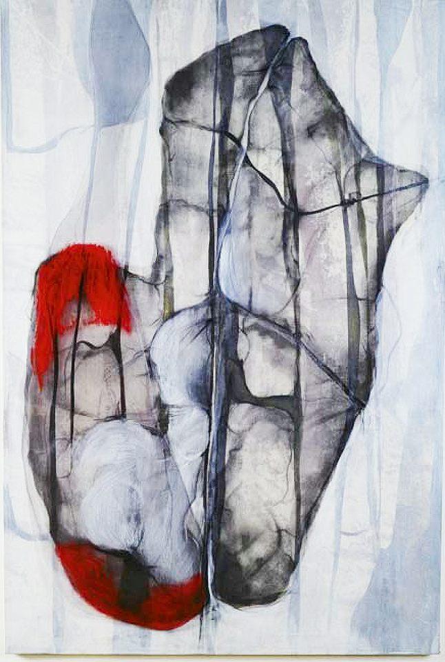 bajo la piel, 1, téc.mixta s-lona-100 x 170 cm