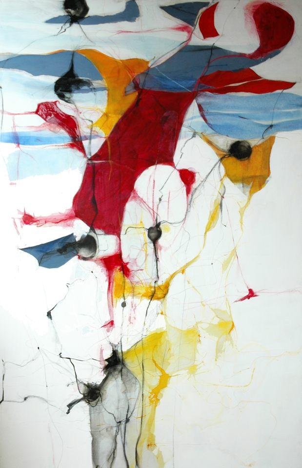 dibujo para orquesta 2-170x100cm-tinta s-tela