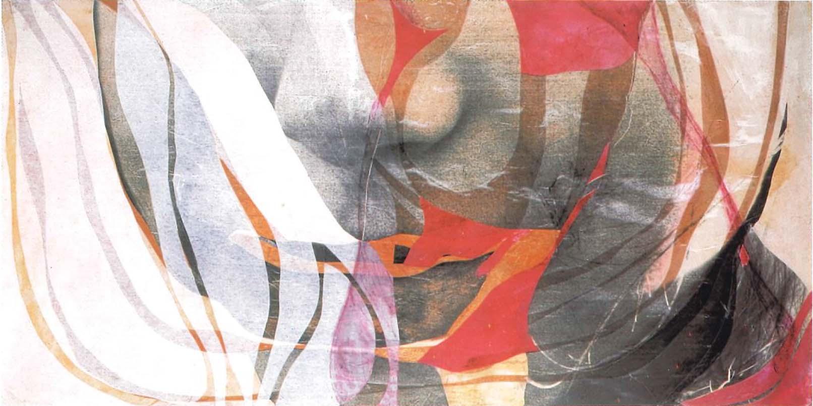 Inocencia II, 2001 T copia. mixta s-tabla 150 x 75 x 10 cm